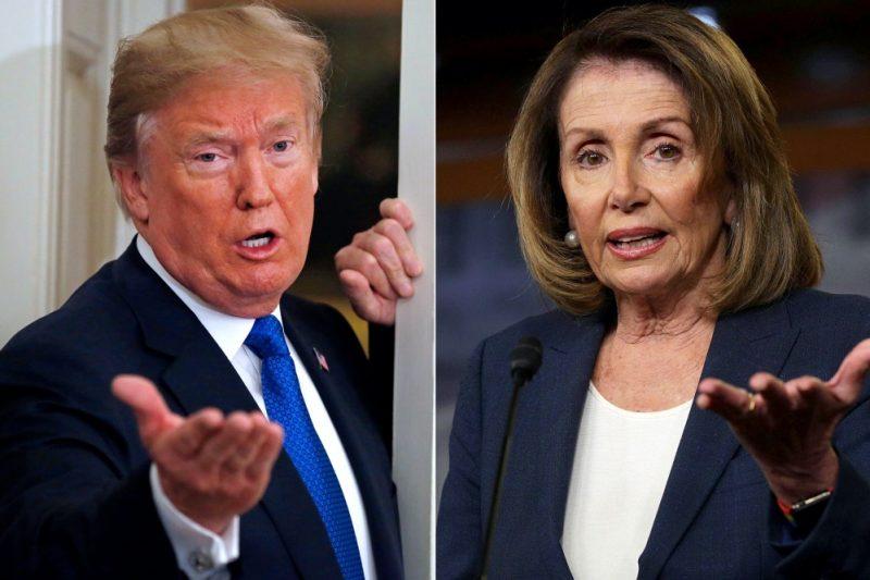 O dopisu prezidenta Trumpa, Nancy Pelosiové, o konci nacistického kontinua ve Spojených státech