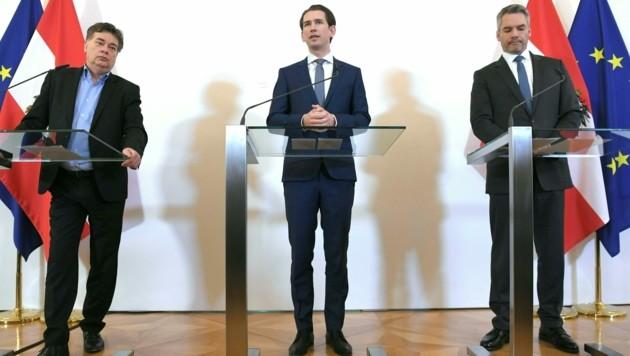 """Rakouský kancléř Kurz řekl: """"Je to turecký útok na EU"""""""
