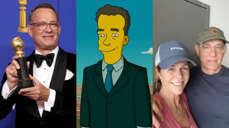 Simpsonovi mají na kontě další vyplněnou předpověď: Tom Hanks je v izolaci