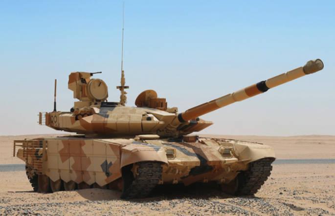 Egypt podepsal kontrakt na 500 ruských tanků T-90