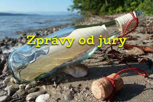 Zprávy od jury 20.3.2021