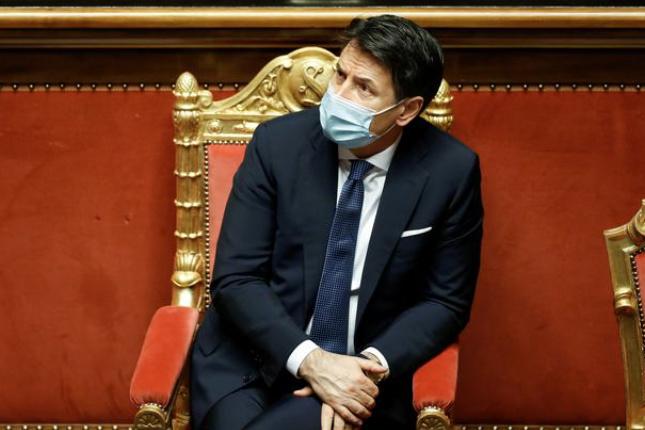 Italský premiér Conte v úterý rezignuje