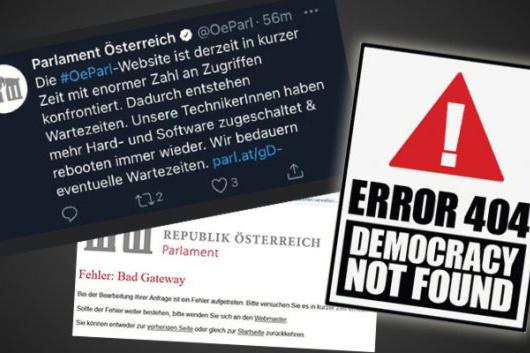 Falošná demokracia v Rakúsku