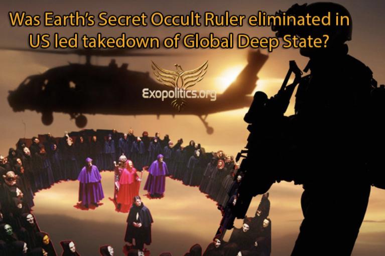 Byl tajný vládce planety Země odstraněn během zatýkání přisluhovačů Deep State?