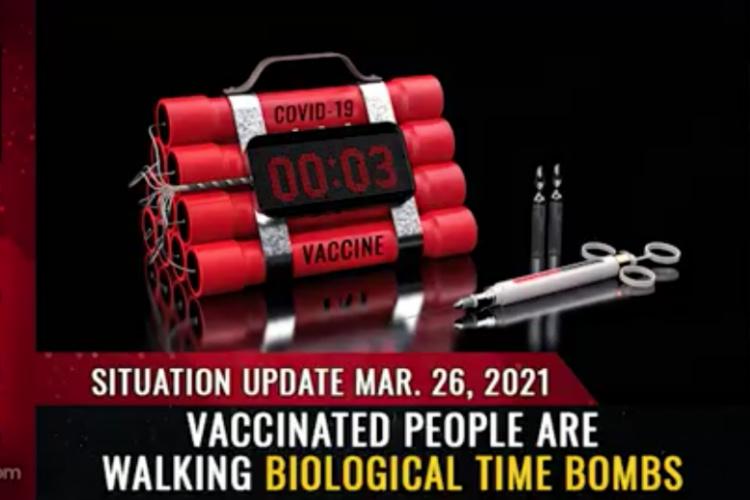 Očkovaní lidé jsou biologickou časovanou bombou a jsou hrozbou pro společnost